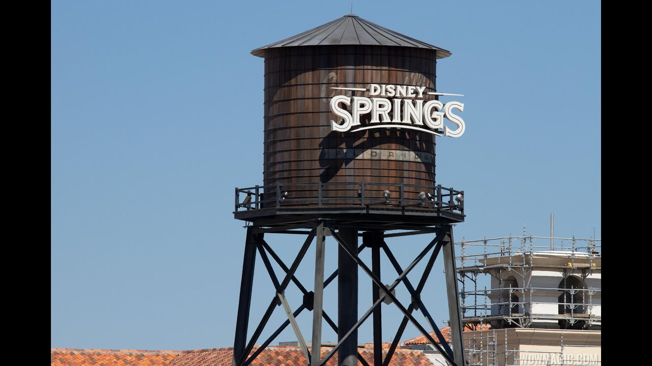 Town Center preview at Disney Springs