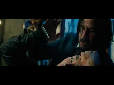 John Wick 3 - Throwing Knives Scene Part 2