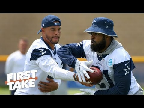 Video: The Cowboys should sign Dak before Zeke - Stephen A. | First Take