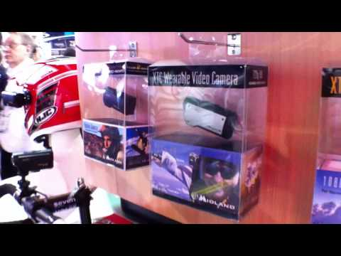 CES 2011: Midland XTC Wearable Cameras