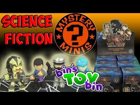 Science Fiction - We open a full case of 12 Funko Science Fiction Mystery Minis Blind Box figures! The set features characters from Star Trek, E.T., Alien, Tron and many others! We had fun opening these! ...