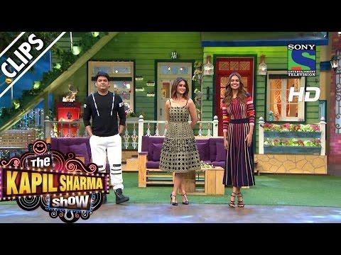 Kapil Welcomes Ileana D'cruz and Esha Gupta -The Kapil Sharma Show -Episode 33-13th August 2016