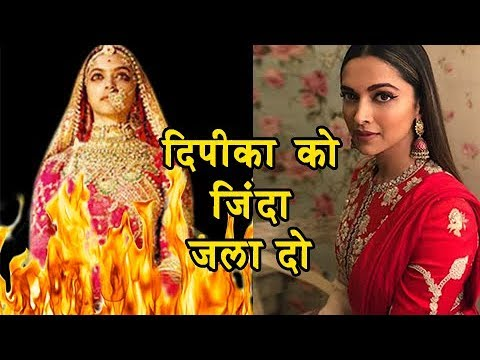 Deepika Padukone Threatened To Be BURNT ALIVE, Gro