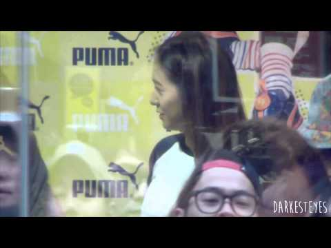 [Fancam] 140412 F(x) Krystal At Puma Fan Signing