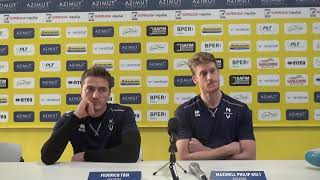 Modena Volley: le parole di Holt e Tosi in vista del match contro Perugia