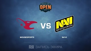 mousesports vs NA'Vi - Dreamhack Tours - de_mirage [yxo,Enkanis]