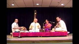PAGES FROM NAG RAO'S MUSIC DIARY: GREAT PERFORMANCES: K.V. N. IN CHICAGO (2000): MAIN KRITHI