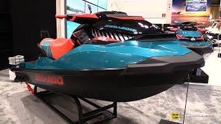 1. 2018 Sea Doo Wake 155 Jet Ski - Walkaround - 2018 Toronto Boat Show