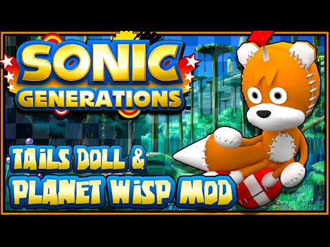 Sonic Generations PC - (1440p) Tails Doll & Planet Wisp All in One Mod