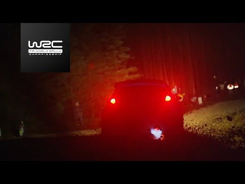 WRC - Dayinsure Wales Rally GB 2017: FLAT OUT AT NIGHT!