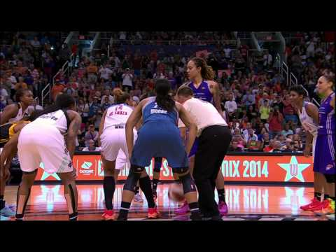 all star - A look behind the scenes of WNBA All-Star Weekend in Phoenix, including the WNBA Fit Clinic, East and West team practices, and the overtime thriller that saw the East defeat the West, as Atlanta...