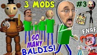 BALDI's BASICS of FNAF EDUCATION & CLONING MOD + I'M BALDI vs. Principal (FGTEEV Cheat Escape #3)