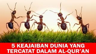 Video Inilah 5 Keajaiban Dunia yang Tercatat Dalam Al Qur'an MP3, 3GP, MP4, WEBM, AVI, FLV Desember 2017