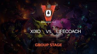 Lifecoach vs Xixo, game 1