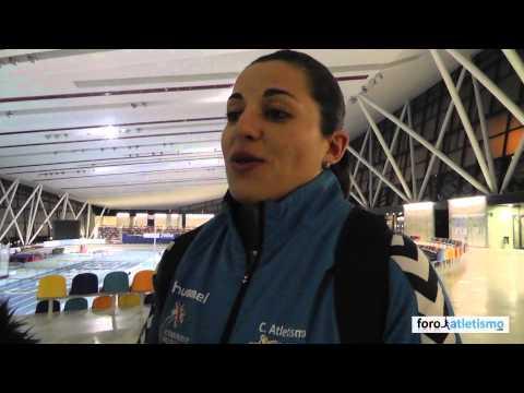 Úrsula Ruiz campeona de España de lanzamiento de peso