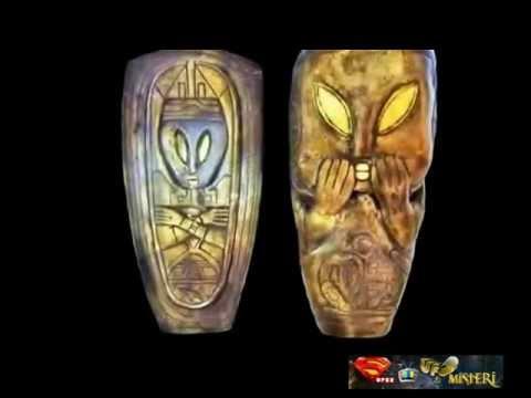 manufatti pre - maya raffigurano ufo ed extraterrestri