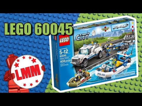 """Конструктор Lego City 60045 """"Полицейский патруль"""""""