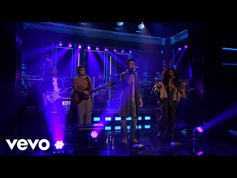 Video Maroon 5 - What Lovers Do (Live On The Tonight Show Starring Jimmy Fallon/2017) ft. SZA download in MP3, 3GP, MP4, WEBM, AVI, FLV January 2017