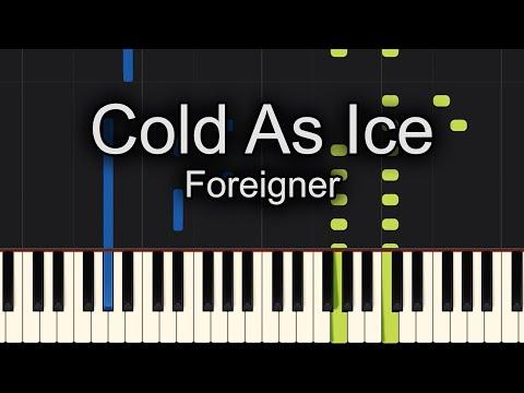Cold As Ice Piano Sheet Music Free Followers Free