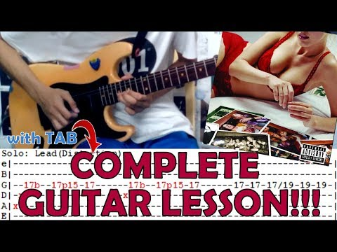 Lips Of An Angel - Hinder(Complete Guitar Lesson/Cover)with Chords and Tab