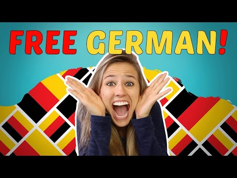 LEARN GERMAN FOR BEGINNERS LESSONS 1-50 for FREE 😃😃😃 (видео)