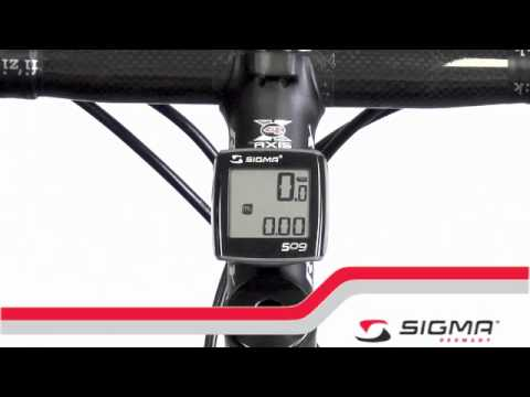 SIGMA BC 509 bicycle computer