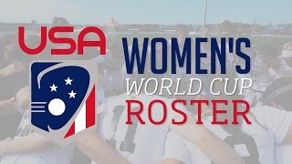 US Lacrosse and U.S. women's senior team head coach Ricky Fried announced the 18-player U.S. Women's National Team that will compete in the 2017 Federation o...