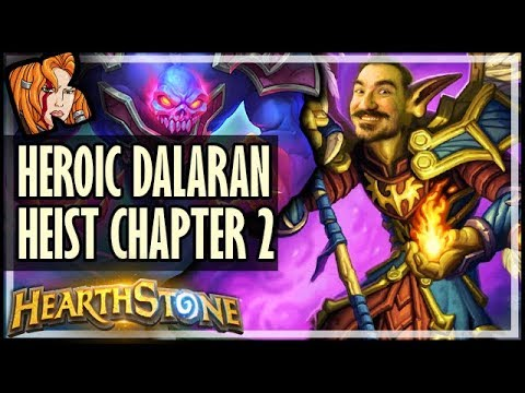 KRIPP vs HEROIC DALARAN HEIST (Chapter 2) - Rise of Shadows Hearthstone