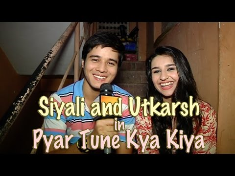 Warrior High's Siyali and Utkarsh aka Sanaya and A