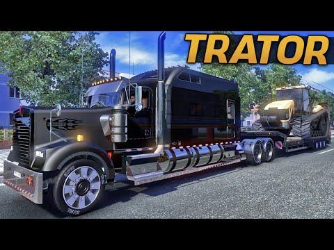 Euro Truck Simulator 2 - Transportando Trator
