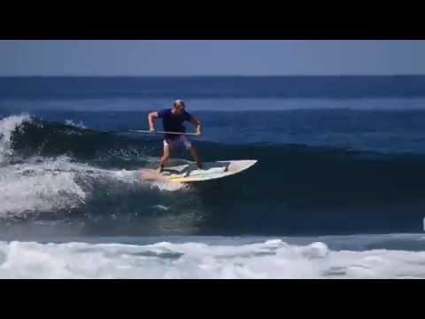 Blue Zone SUP April 2014 - Colin McPhillips & friends SUP in fun Costa Rica surf (видео)