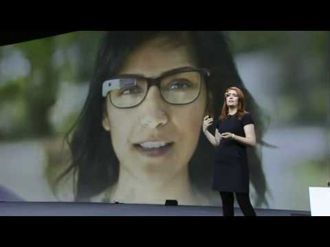 demonstration - Google Glasses Live Demonstration - During the Google I/O 2012 keynote, the audience was about to experience an amazing demonstration of Google Glasses.