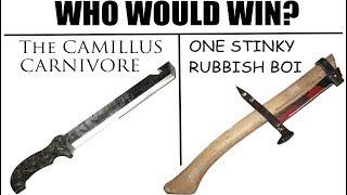 Video Worst Knife EVER? -The Camillus CARNIVORE vs. Axe Made of Literal Trash- MP3, 3GP, MP4, WEBM, AVI, FLV Oktober 2017