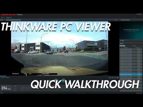 Thinkware Desktop Viewer Quick Walkthrough - BlackboxMyCar