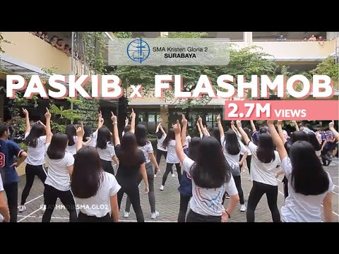 "Flashmob X Paskibra Sma Gloria 2 | ""empathy For Charity"""