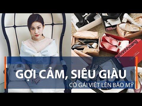 Gợi cảm, siêu giàu, cô gái Việt lên báo Mỹ | VTC1 - Thời lượng: 74 giây.
