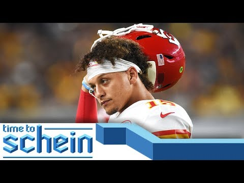 Video: Patrick Mahomes and Lamar Jackson set to face off in Week 3 | Time to Schein