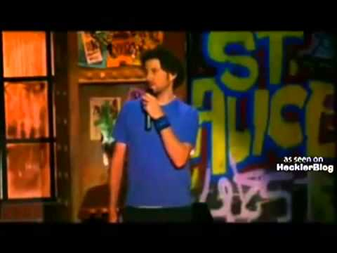 jamie Kennedy vs Female Heckler   Video