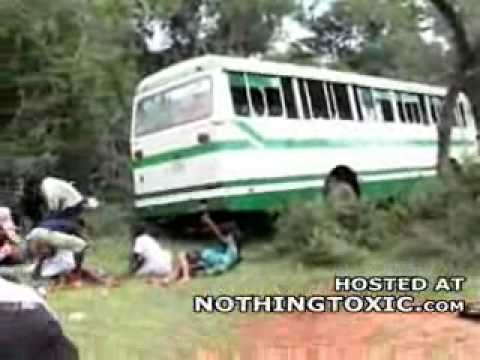 Horrific Aftermath Of A Sri Lankan Attack On A School Bus