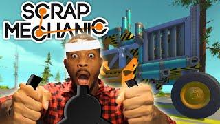 SCRAP MECHANIC! - MONSTER TRUCK RACE! w/Tomohawk