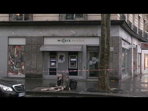 Κινηματογραφική ληστεία τράπεζας στο Παρίσι