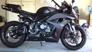 6. 2008 Honda CBR600RR walk around and rev...Hannah