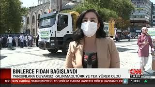 Gaziosmanpaşa'dan Manavgat Ve Yangın Bölgelerine Fidan Bağışı - Cnn