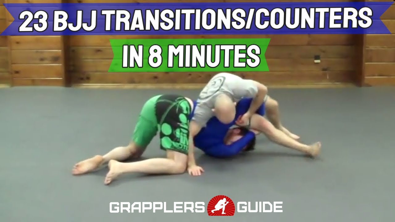 23 Transitions, Scrambles & Counters in 8 Minutes