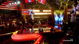 """Sude Öz final performansı için """"Part Of Me"""" şarkısını seslendirdi."""