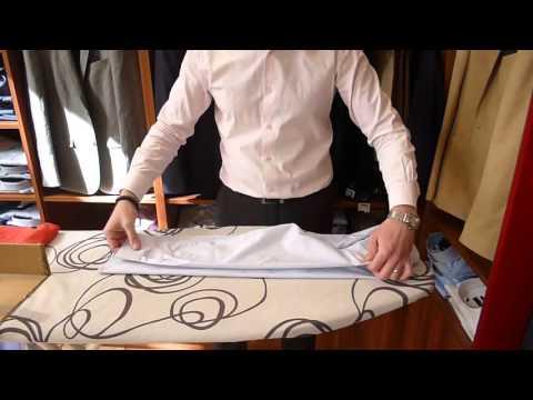 Comment plier une chemise - tutoriel Men's Code