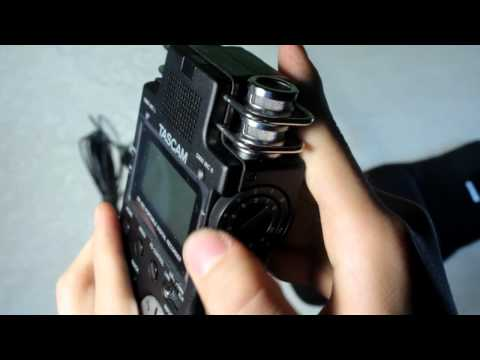 DSLR AUDIO – TASCAM DR100 REVIEW
