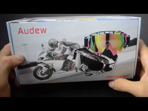 Audew maschera da snowboard, sci, moto Anti-UV