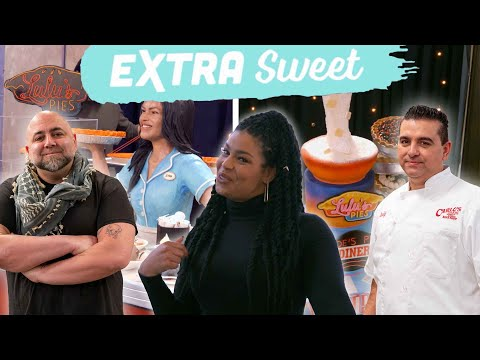 Buddy & Duff Make Cakes Inspired by Waitress the Musical (Feat. Jordin Sparks) | #BuddyVsDuff
