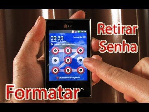 Desbloquear o LG Optimus L3 (Resetar - Formatar) Tirar o Padrão